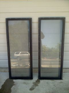 "Two RV Windows - Crank Open - 16""x40"""