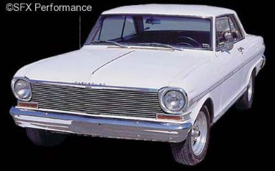 Find Carriage Works Billet Grille 1963-1964 Nova-Chevy II 41122 motorcycle in Arlington, Texas, United States, for US $236.91