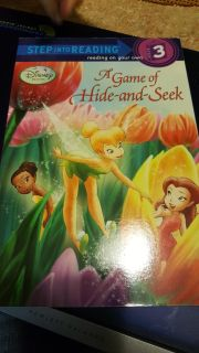Softcover Level 3 reader Disney Faries