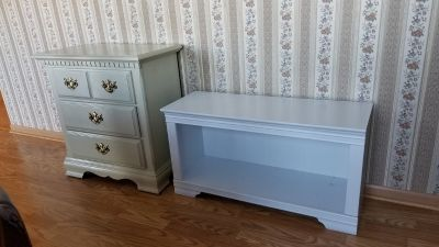 Bench and a dresser