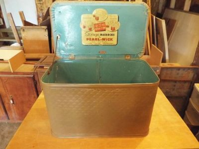 Foot Rest Box*1950S*Box*Really Nice