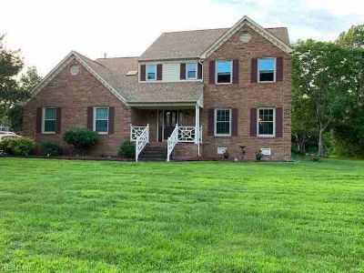 12 Trotters BRG Poquoson Four BR, Beautiful brick home situated