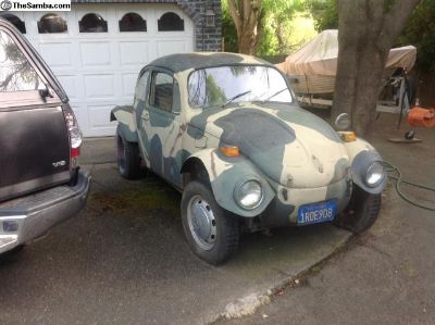 1971 Baja Bug Project