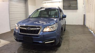 2018 Subaru Forester 2.5i Premium (Quartz Blue Pearl)