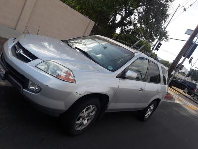 Acura mdx 2001 clean title