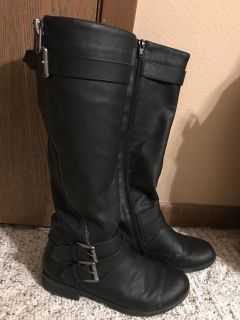 Maurices calf high boots