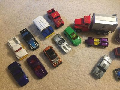 Hot Wheels and other vehicles