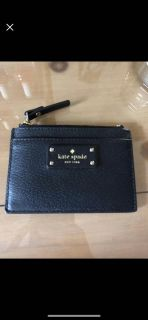 Kate spade card holder with coin slot