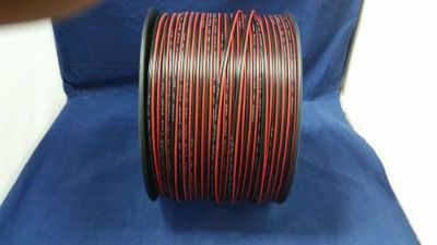 Find 18 GAUGE 50 FT RED BLACK ZIP WIRE AWG CABLE POWER GROUND STRANDED COPPER CAR motorcycle in Mulberry, Florida, United States, for US $10.95