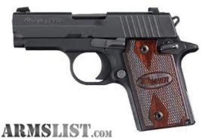 For Sale: SIG 938 ROSEWOOD