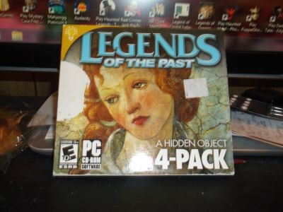 LEGENDS OF THE PAST HIDDEN OBJECT 4 PACK