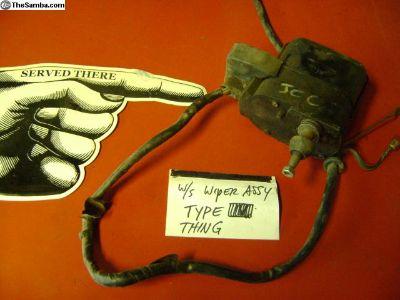 Wiper Motor Assy- Pending