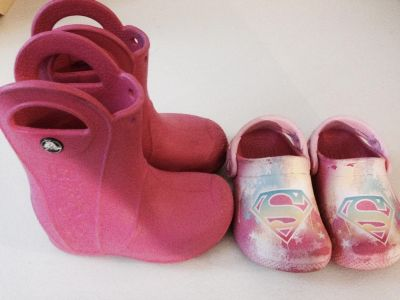 Toddler girls sandals and rain boots