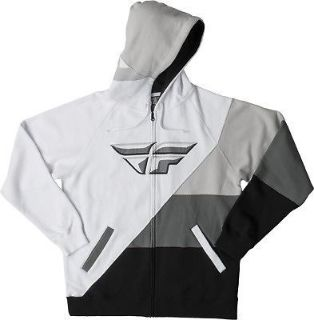 Buy Fly Racing Panic Hoody Black/White Sweatshirt S/M/L/X/2X motorcycle in Hinckley, Ohio, United States, for US $79.95