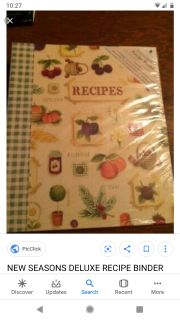 ISO this exact recipe binder
