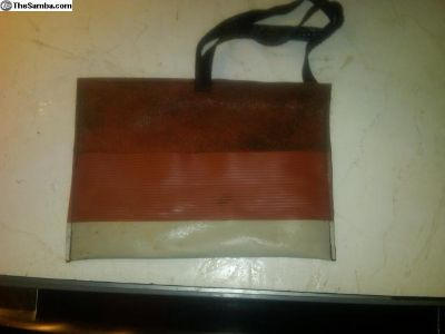Very Rare Brick Red Ribbed Vinyl Toolkit Pouch