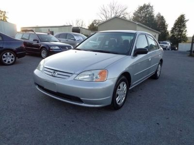 2003 Honda Civic LX 4dr Sedan w/Side Airbags