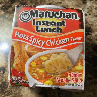 Maruchan Instant lunch hot and spicy chicken flavor Ramen noodle soup