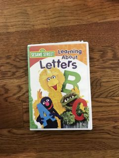 Sesame Street Learning About Letters