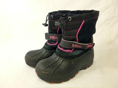 Totes girls size 13 winter boots