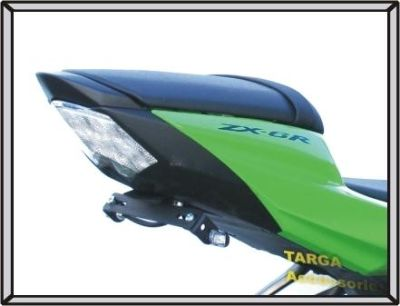 Find 2009 - 2012 ZX6R Ninja TARGA Fender Eliminator w/ Micro LED Turn Signals LED Tag motorcycle in Aliso Viejo, California, US, for US $99.95