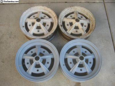 """OG EMPI Rader Wheels/Rims 5"""" Wide"""
