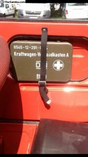 First Aid Kit & Mounting Brackets Door Or Dash