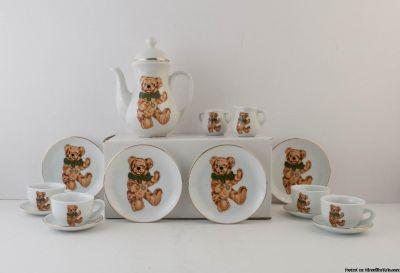 Hermann Bear 15 piece tea set
