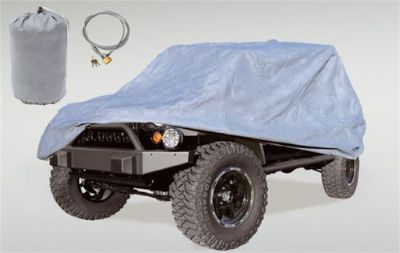 Purchase Rugged Ridge 13321.81 Full Car Cover Fits 07-16 Wrangler (JK) motorcycle in Burleson, TX, United States, for US $143.99