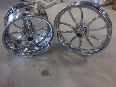 Purchase BIG DOG CHROME 2008-2010 MASTIFF WHEEL SET BDM CUSTOM motorcycle in Lyons, Kansas, US, for US $1,199.99