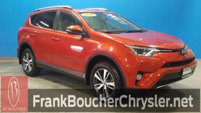 2016 Toyota RAV4 XLE (Burnt Orange)