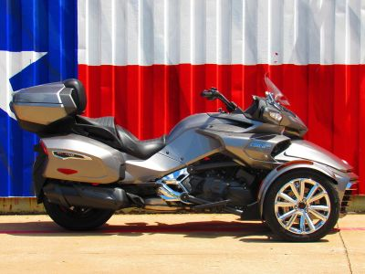 $24,991, 2017 Can-Am Spyder F3-T 6-Speed Semi-Automatic (SE6)