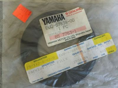 Sell Yamaha Filler Neck Gasket Seal EUO-67834-00-00 Superjet Blaster FX1 Waverunner motorcycle in Fair Oaks, California, United States
