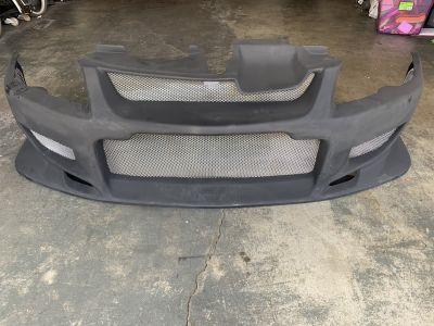 VIS Racing Evo 8/9 widebody front bumper