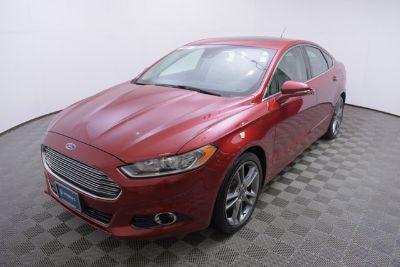 2015 Ford Fusion Titanium (red)