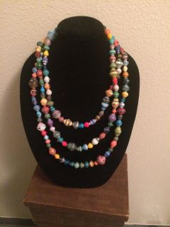 Noonday Collection paper beaded jewelry
