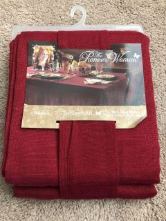 Pioneer Woman tablecloth