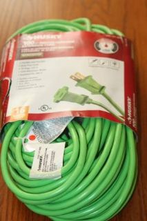 New Husky 100ft Indoor / Outdoor Extension Cord