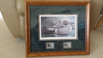 Wildlife Print and Stamps- Iowa Ducks Unlimited 1997