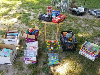 Small Children's Toys, Games, Learning Tools, and Etc.