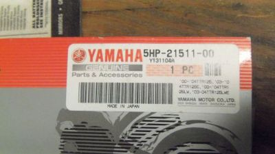Find OEM Yamaha TTR125 Front Fender 5HP-21511-00-00 motorcycle in New Oxford, Pennsylvania, United States, for US $29.95