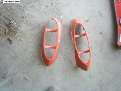 Karmann Ghia tail light quarter repair sections