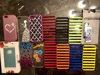 iPhone 5 cases, screen protector