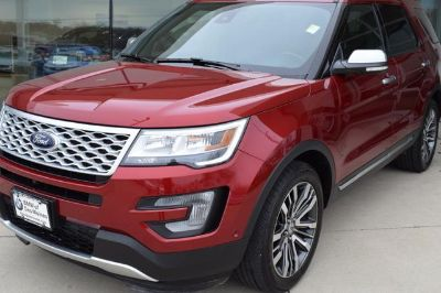 2017 Ford Explorer (Ruby Red Metallic Tinted Clearcoat)