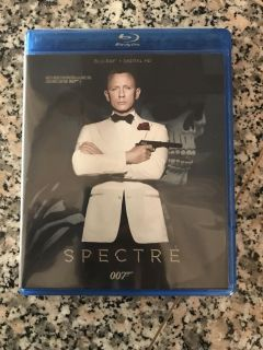NEW Spectre Blu Ray and Digital