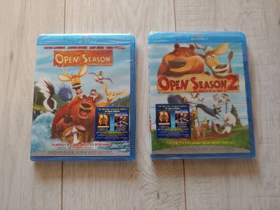 Open Season and Open Season 2 blu-ray