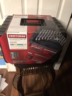 NEW 270 Piece Craftsman Mechanics Tool Set