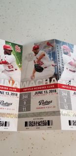 4 Cardinals tickets for Wednesday June 13, 2018 7:15 game $70 EACH