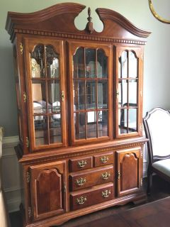 Solid Cherry China Cabinet