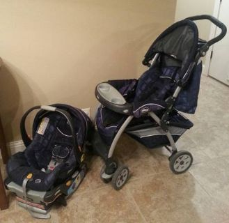 chicco stroller  car seat
